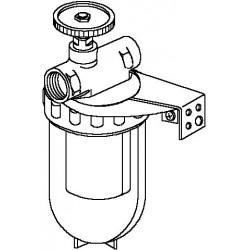 Oilpur A filtr oleju opałowego do systemów 1-rurowych 2 x 3/8GW, Siku 50-75my