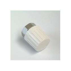 Pokrętło ręczne białe, M30 x 1.5