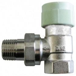 Zawór termostatyczny typoszeregu RFV 6 DN15-1/2, kątowy