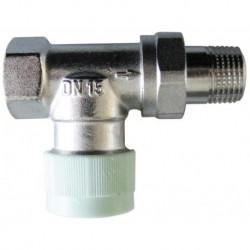 Zawór termostatyczny typoszeregu RFV 6 M 30 x 1.5, DN15-1/2, prosty