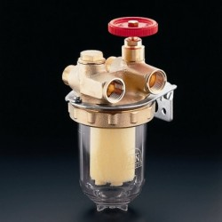 Oilpur filtr oleju opał. do systemów dwurur. 3/8, z wkładem z tworzywa Siku 50-75µm