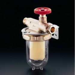 Oilpur filtr oleju opałowego do systemów 1-rurowych 3/8GWx3/8GZ, z wkładem z tworzywa Siku 50-75