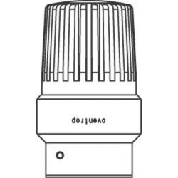 Termostat Uni LHB  7-28 C, * 1-5, czujnik cieczowy, biały