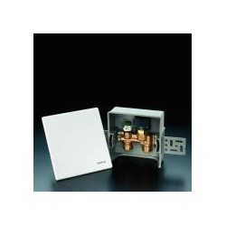 Unibox E RTL ograniczanie temperatury czynnika w rurze, biały