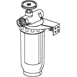 Magnum filtr oleju opałowego z nawrotem 3/8GW/GZ, 50-75µm