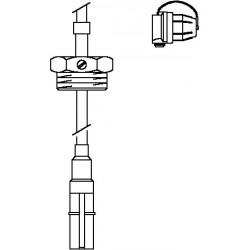 Ogranicznik maks. napełn. do baterii zbiorników wg DIN 6620 i 6625, długość kabla 500 cm